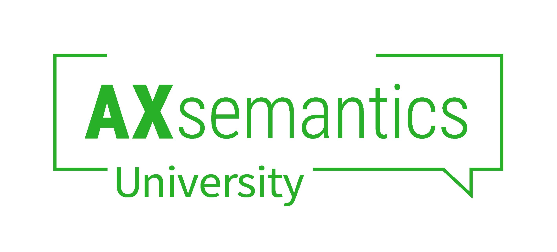 AX Semantics University Logo