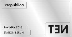 re:publica TEN Logo